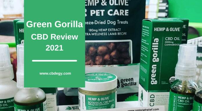 Green Gorilla CBD Review 2021